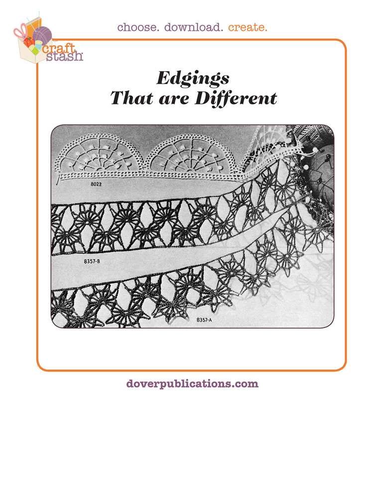 Edgings That are Different (digital pattern)