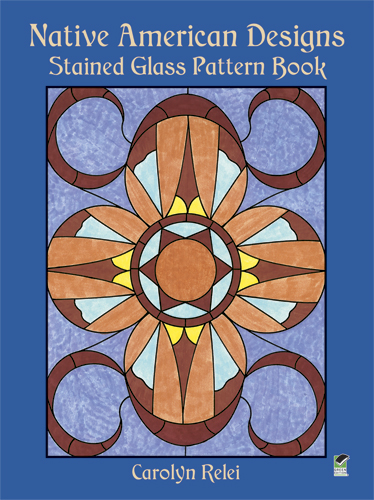 Native American Designs Stained Glass Pattern Book (eBook)