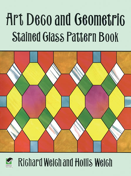 Art Deco and Geometric Stained Glass Pattern Book (eBook)