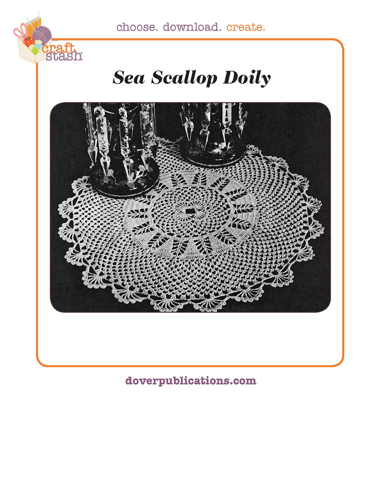 Sea Scallop Doily (digital pattern)