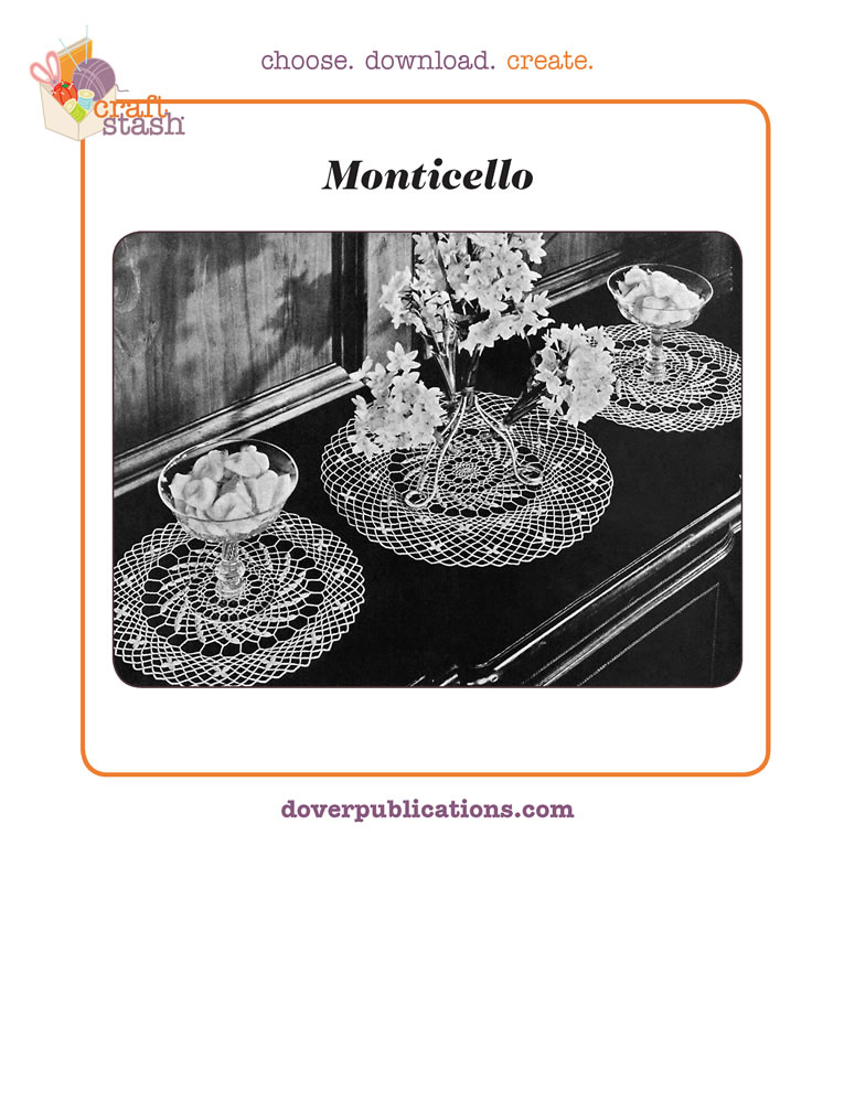 Monticello Doily (digital pattern)