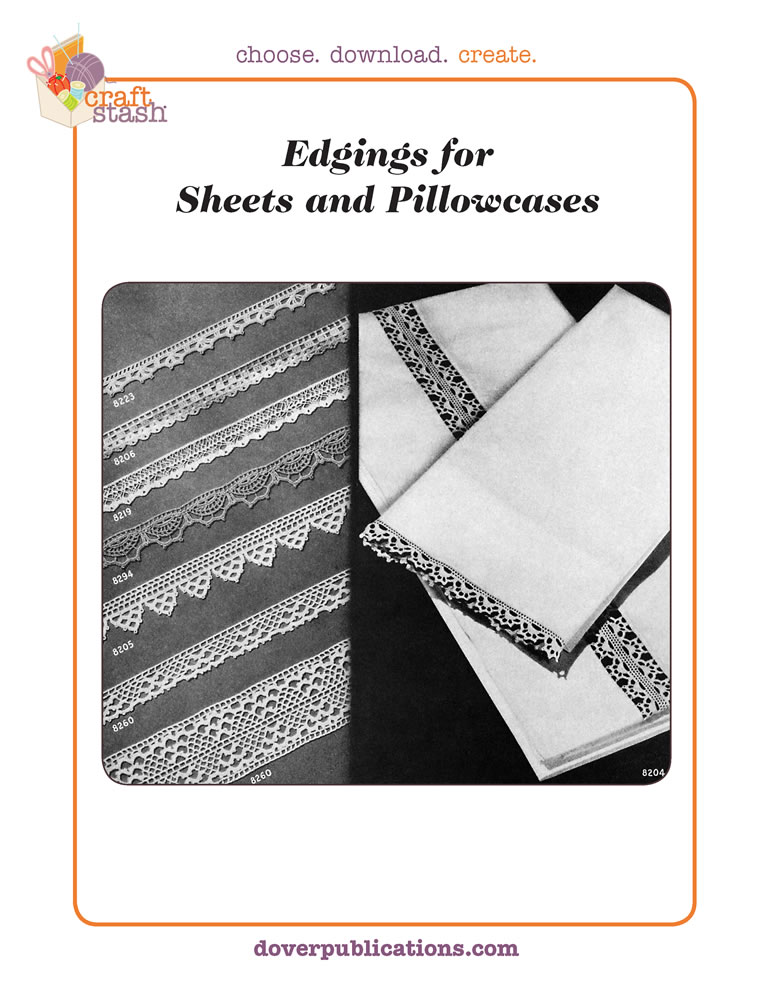 Edgings for Sheets and Pillowcases (digital pattern)
