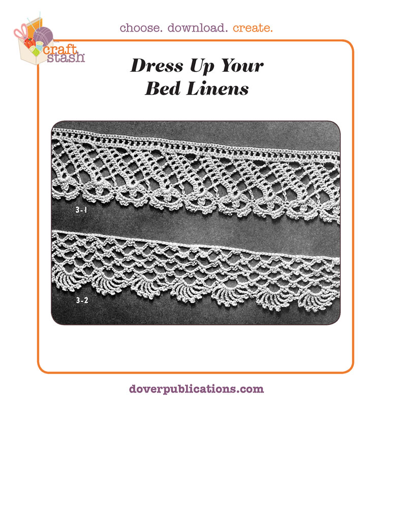 Dress up your Bed Linens (digital pattern)