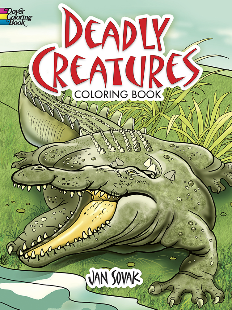 Deadly Creatures Coloring Book
