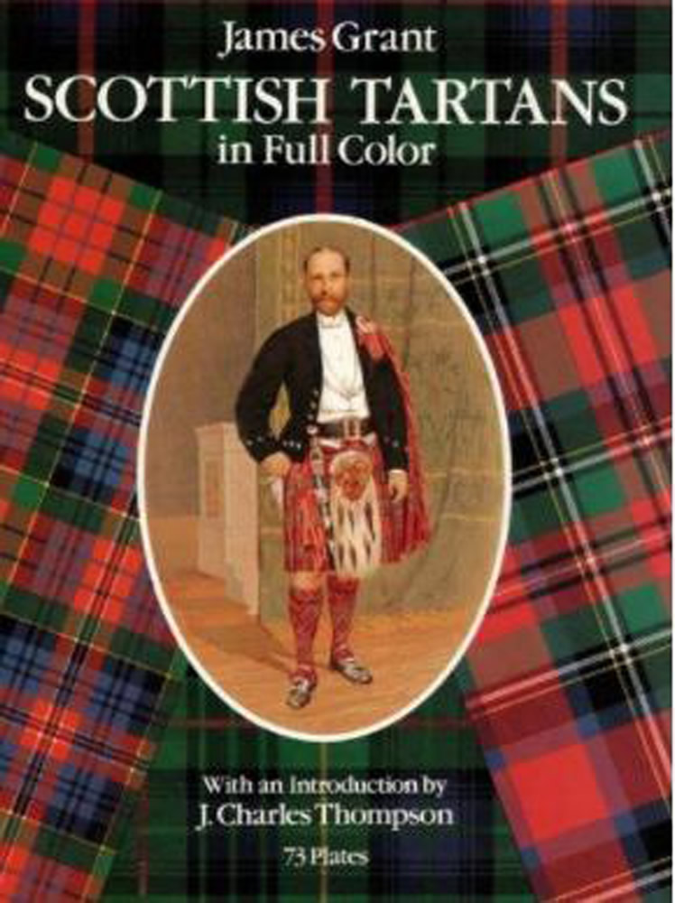 Scottish Tartans in Full Color (eBook)