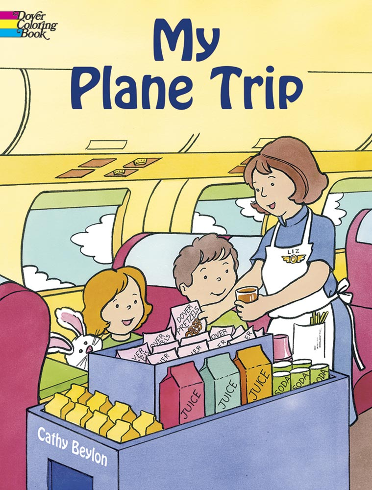 My Plane Trip Coloring Book