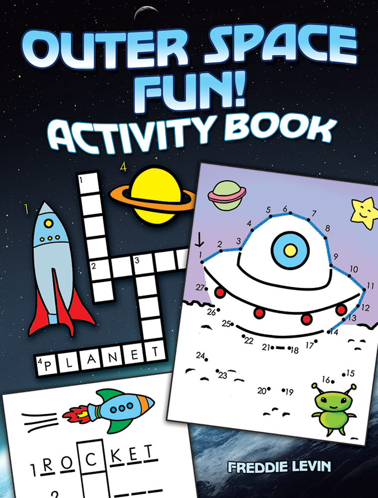 Outer Space Fun! Activity Book