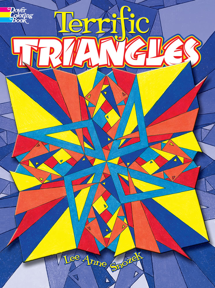 Terrific Triangles Coloring Book