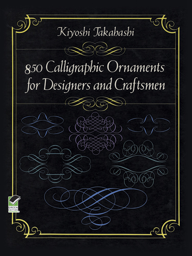 850 Calligraphic Ornaments for Designers and Craftsmen (eBook)