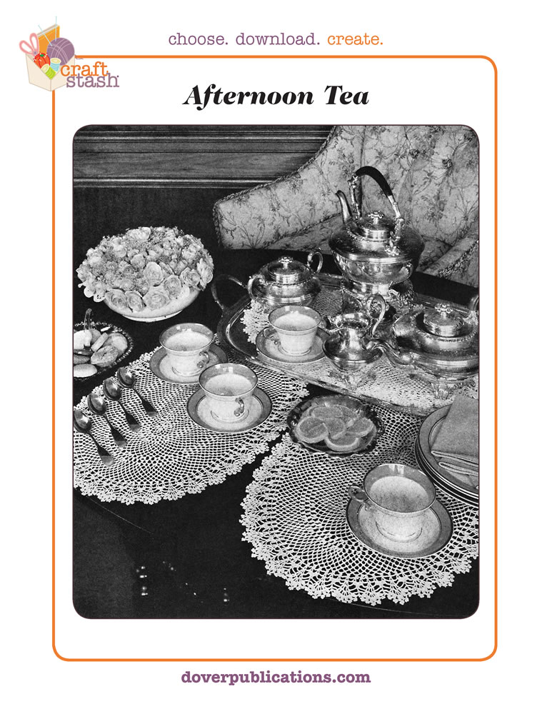 Afternoon Tea (digital pattern)