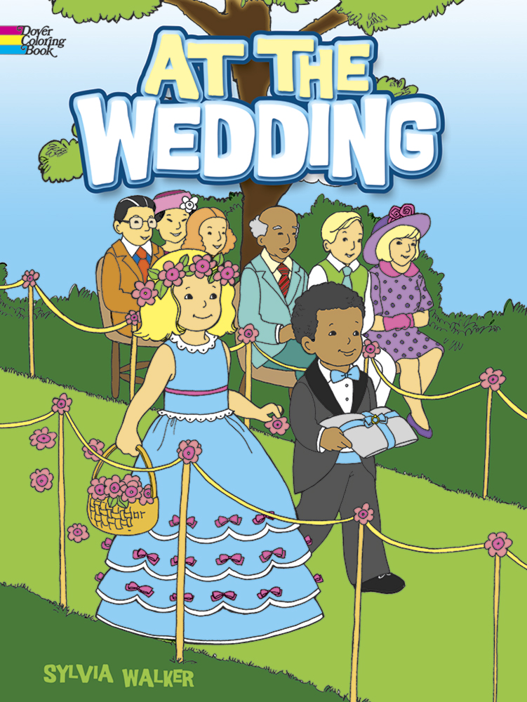 At the Wedding Coloring Book