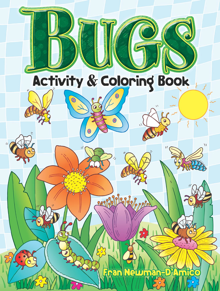 Bugs Activity and Coloring Book