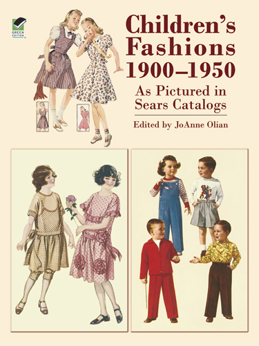 Children's Fashions 1900-1950 As Pictured in Sears Catalogs (eBook)