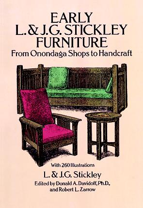 Early L. & J. G. Stickley Furniture: From Onondaga Shops to Handcraft (eBook)