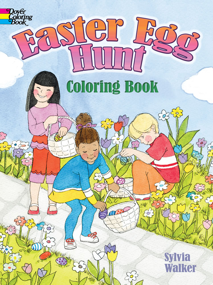 Easter Egg Hunt Coloring Book