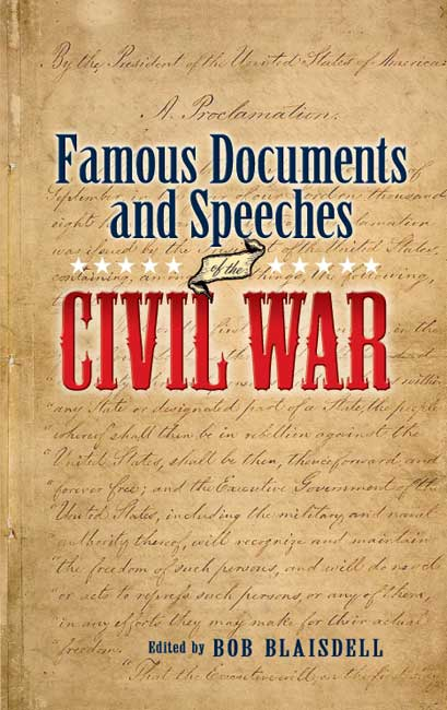 Famous Civil War Documents and Speeches (eBook)
