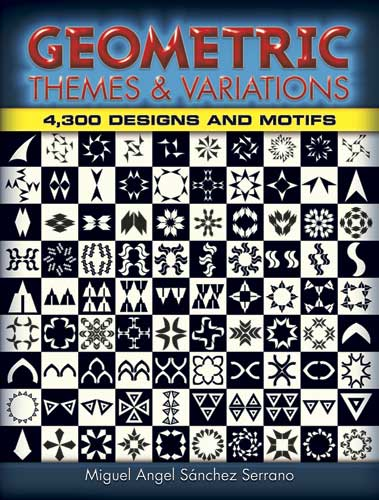 Geometric Themes and Variations: 4,300 Designs and Motifs (eBook)