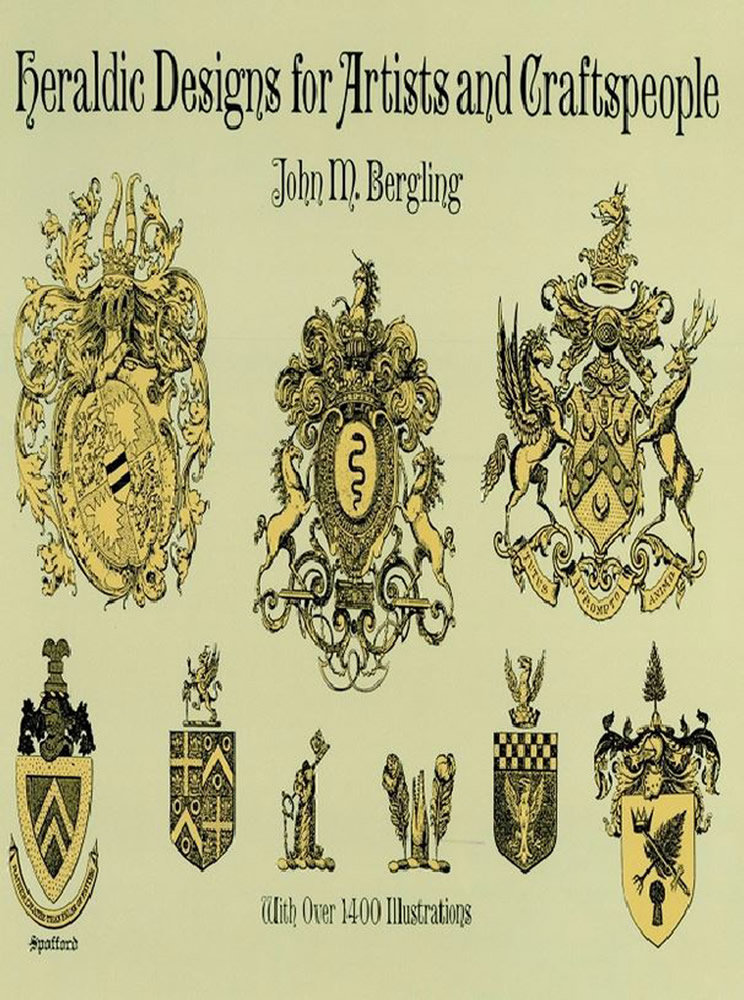 Heraldic Designs for Artists and Craftspeople (eBook)