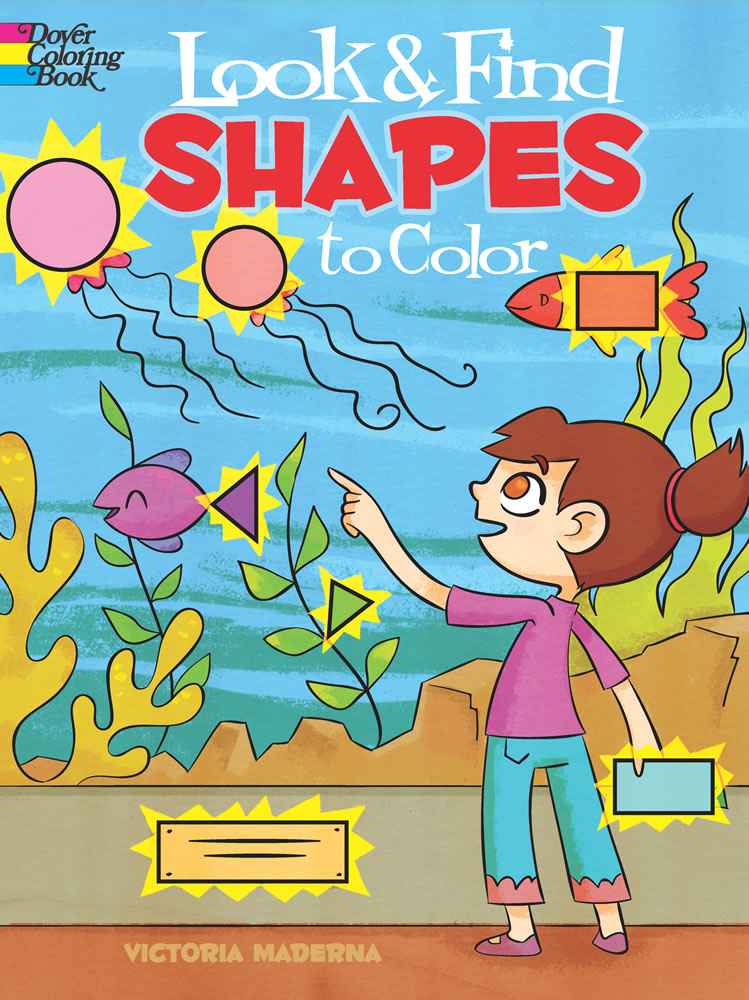 Look & Find Shapes to Color