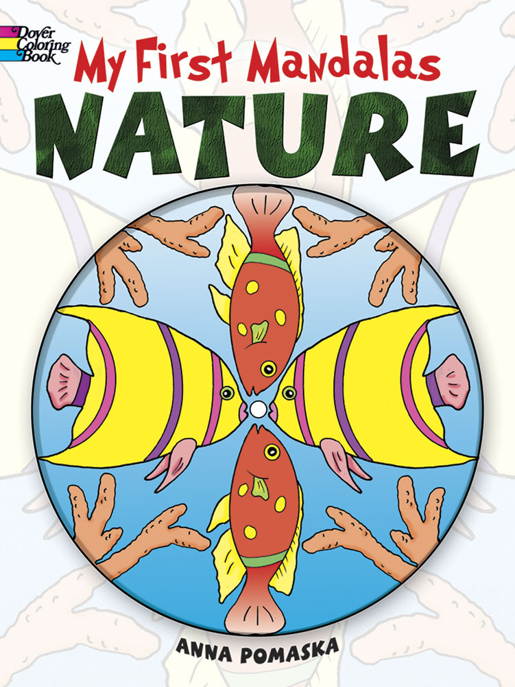 My First Mandalas--Nature Coloring Book