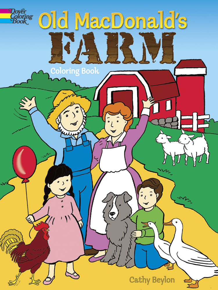 Old MacDonald's Farm Coloring Book