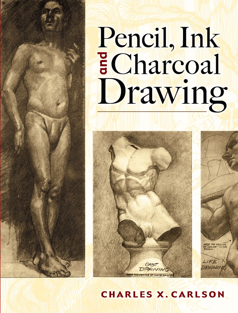 Pencil, Ink and Charcoal Drawing (eBook)