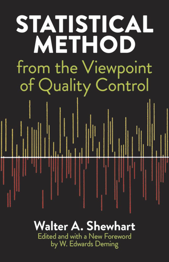 Statistical Method from the Viewpoint of Quality Control