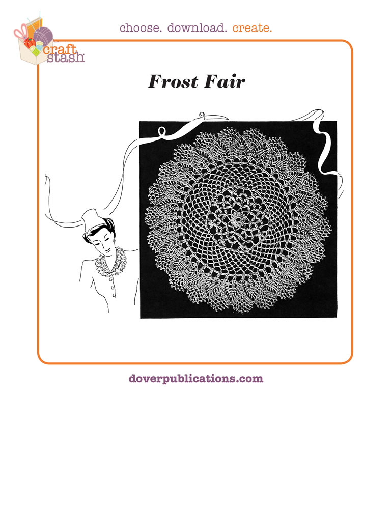 Frost Fair Doily (digital pattern)