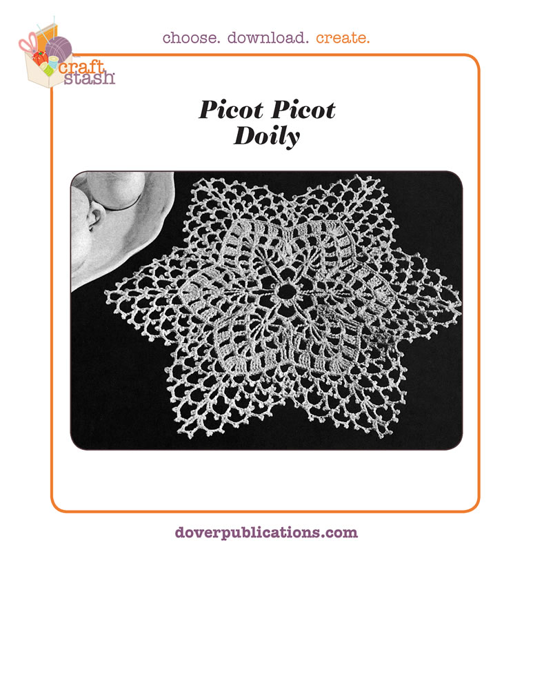 Picot Doily (digital pattern)