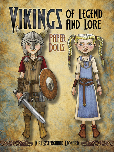 Vikings of Legend and Lore Paper Dolls
