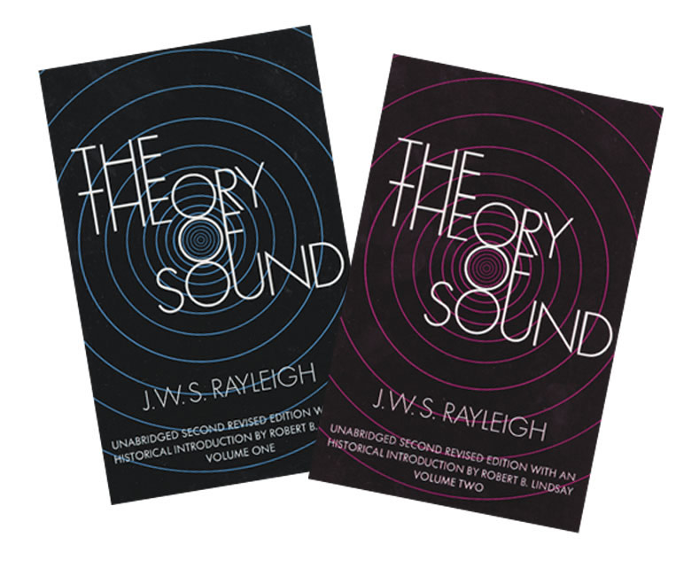 Theory of Sound 2 Volume Set
