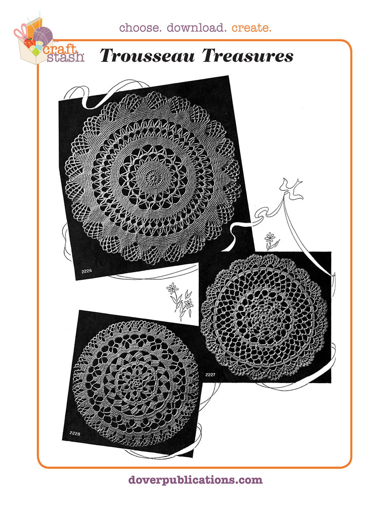 Trousseau Treasures Doilies (digital pattern)