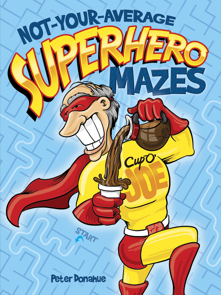 Not-Your-Average Superhero Mazes