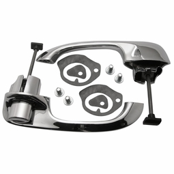 Trim Parts: 2418 / New 1965-1968 Chevy Full Size Rear Outside Door Handle Set