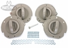 New Jeep Liberty Inside Door Handles / Set of Four - With Install Kit