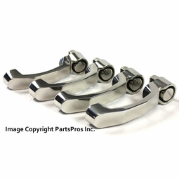 New Rampage Door Handles<br>Polished Stainless Steel Set