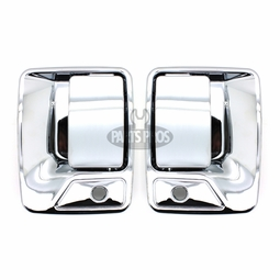 New Chrome Outside Door Handle Pair
