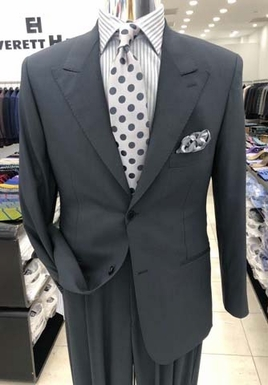 Charcoal Grey High Twist Suit