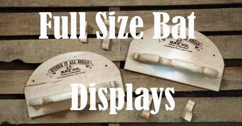 Display your full size bat