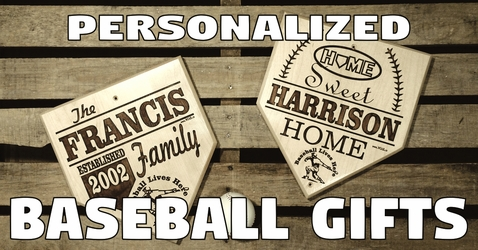Baseball Gifts ~ Custom Engraved