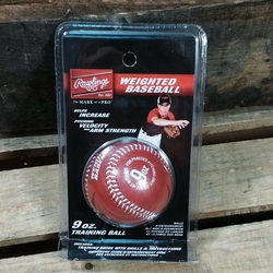 RAWLINGS WEIGHTED BASEBALL ~ TRAINING AID