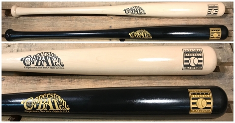 "34"" National Baseball Hall of Fame Official Logo Bat"