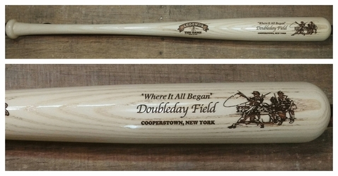 "Legends~Doubleday Field~Where It All Began 34"" BAT $44.99"
