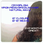 Virgin Brazilian Hair- NATURAL WAVY Braiding Hair, CEOGirl(SM)