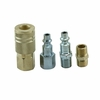 OEM Tools 25851 Quick Connect Air Coupler Set - Type D Industrial, Milton M