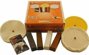 """Enkay 156-6K 6"""" Buffing & Polishing Kit for Buffers and Grinders"""