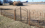 3' Tall Wrought Iron Fencing & Gates