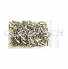 "Bicycle 7075 Alloy Spoke Nipples 2.0mm 14G 1/2"" 72 Pcs Silver"