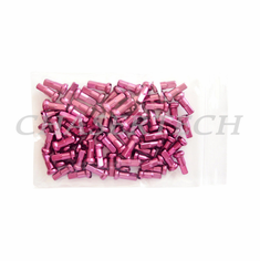 "Bicycle 7075 Alloy Spoke Nipples 2.0mm 14G 1/2"" 100 Pcs Pink"
