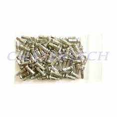 "Bicycle Brass Spoke Nipples 2.0mm 14G 1/2"" 100 Pcs Chrome Plated"